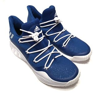 Adidas Blue White Crazy Explosive Low Shoes 13.5